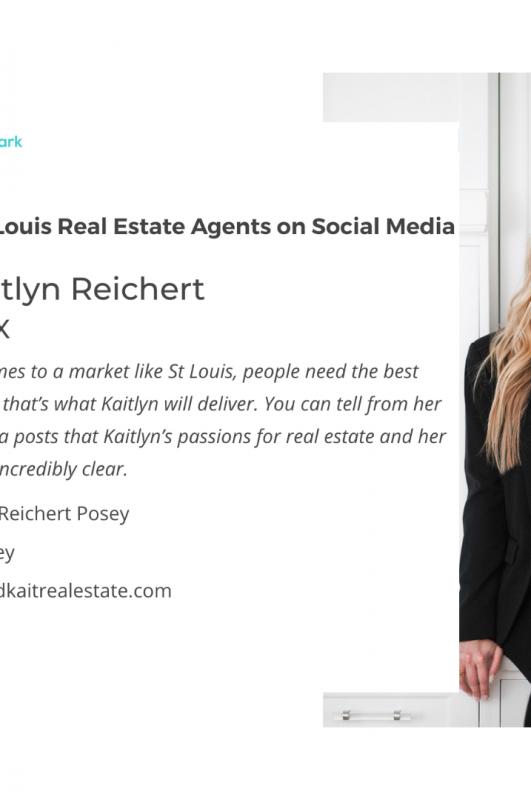 #1 St. Louis Realtor on Social Media